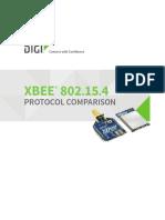 Xbee 802-15-4 Protocol Comparison