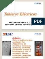 CAPACITACIÓN TABLEROS BT 2