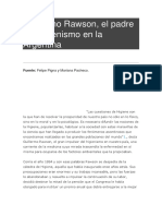 Guillermo Rawson Biografia