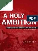 SAMPLE - A Holy Ambition - John Piper - Desiring God
