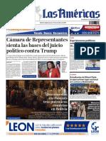 DIARIO LAS AMÉRICAS Edición digital del jueves 31 de octubre de 2019
