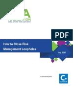 Close Risk Management Loopholes