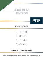 Division de Polinomios 2020
