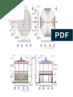 Estructura de Quiosqo