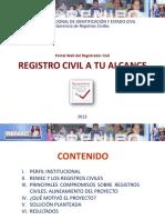 RENIEC-GRC Registro Civil a Tu Alcance