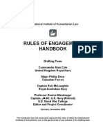 San Remo - Rules of Engagement - Handbook