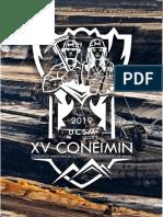 Bases del concurso de costos y presupuestos XV CONEIMIN