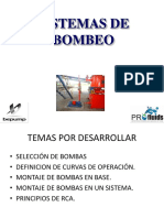 Concepto, Instalacion, Operacion y Matto Bombas 2012