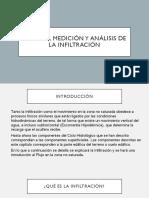 Proceso, Medición y Análisis de La Infiltración