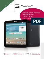 LG G Pad 7.0 LTE V410 Brochure (Spanish)