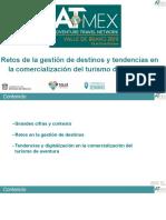 Maurici Carbo - ATMEX Retos gestión destinos y tendencias comercialización