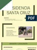 Residencia Santa Cruz TALLER 4