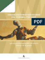 organizaciones sucesoras del Paramilirarismo
