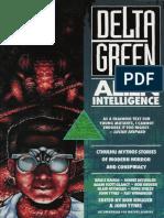 Call of Cthulhu - Delta Green - Alien Intelligence (Novels)
