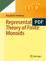(Universitext) Benjamin Steinberg - Representation Theory of Finite Monoids-Springer (2016)