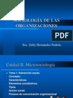Sociologi II