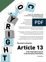 Copyright Proposal Article13