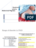 IBS, Dyspepsia, Migrain