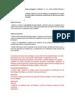 Representando Una Estrategia Pedagógica y Didáctica de Unión Entre El Nivel Primario y Secundario