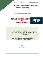 Tema 1 Ecología y Medio Ambiente