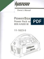 Motomaster Power Box 800 Manual