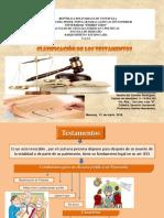 clasificacion de los Testamentos en Venezuela, SAIA H, Tutora Halime Hernadez, Alumna Yanelis Rodriguez.pptx