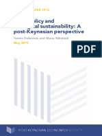Fiscal policy and ecological sustainability