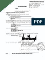 President Trump files for primary residency in Florida
