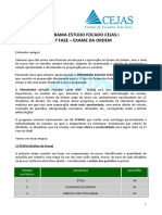 Programa de Estudo OAB