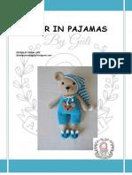 Bear in Pajamas