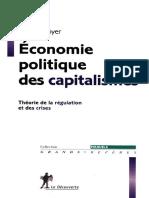 Robert BOYER - Économie Politique Des Capitalismes-La Découverte (2015)
