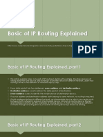 Basic of IP Routing Explained