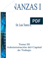 PRESENTACION DE LOS TEMAS III, IV Y V ADMINISTRACION DEL CAPITAL DE TRABAJO (1).ppt