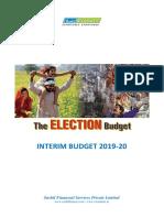 Intreme budget 2019