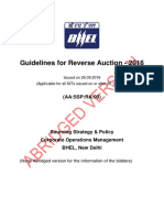 Guidelines for Reverse Auction-2016
