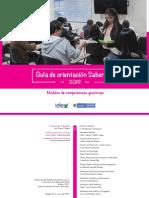 Guia de Orientacion Modulos de Competencias Genericas Saber Pro 2019