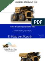 CURSO DE OPERACIÓN Y MANTENIMIENTO CAMIONES CAT 789C