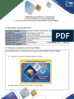 Guía para el uso del recurso simulador Circuit Maker