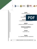 ejercicios de agencias y matrices del libro conta avanzada