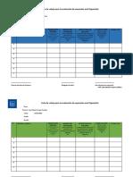 Lista de Cotejo Para La Evaluación de Expresión Oral