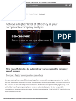 Benchmark - OnESOURCE - Tax & Accounting - Thomson Reuters