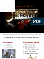 Mediums of Music