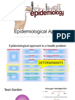Epidemiological Approach