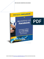 Reporte Marketing Con Facebook