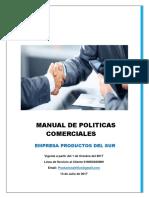 Politicas Comerciales Manual