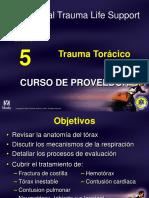 5.- trauma toráxico