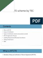 MTCTE scheme by TEC_TUV India.pptx
