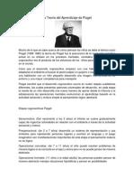 La Teoría Del Aprendizaje de Piaget