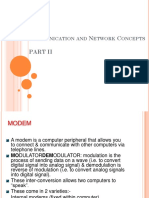 Communication and Network Concepts Part 2