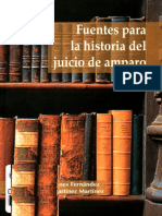 Fuentes para la historia del juicio de Amparo